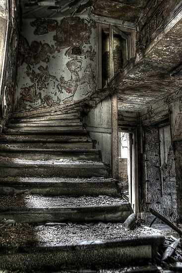 Stone Stairs by Richard Shepherd