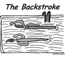 The Backstroke by CanvasMan