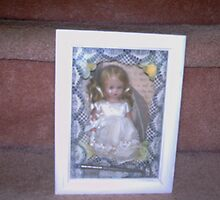 bride doll shadow box altered art by SUZANNE10537