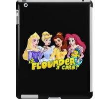 Is Flounder a Carb? iPad Case/Skin