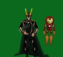 loki and his new partner in crime by LokiLaufeysen