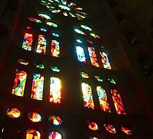 Sagrada Familia III by Tom Gomez