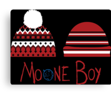 Moone Boy Hats Canvas Print