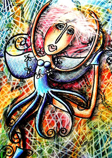 Razzamattaz Fairy by © Karin  Taylor