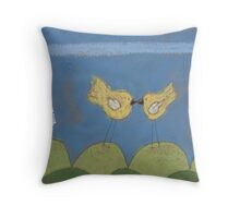 A Summer Kiss Throw Pillow