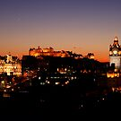 Edinburgh Skyline by Scott Harding