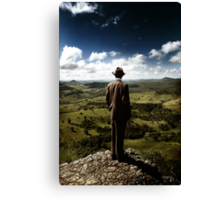 walk in the clouds Canvas Print