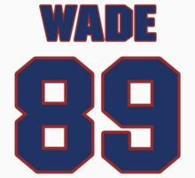 National football player Charlie Wade jersey 89 by imsport