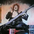 phil lynott wall mural 2003 by alan  sloey