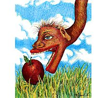 The Snake in the Grass Photographic Print