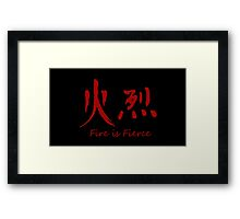 Avatar The Last Airbender/The Legend of Korra : Fire is Fierce Framed Print