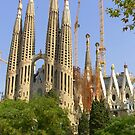 Sagrada Familia by Tom Gomez