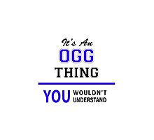 It's an OGG thing, you wouldn't understand !! by thenamer