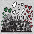 Roma flying hearts by Logan81