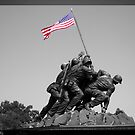 Iwo Jima memorial by Matt Sillence
