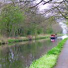 The Union Canal near Ratho, Scotland by Tom Gomez