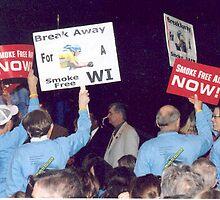 Smoke Free Rally  by AuntieJ