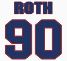 National football player Matt Roth jersey 90 by imsport