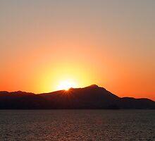 Bay of Naples Sunset by Tom Gomez