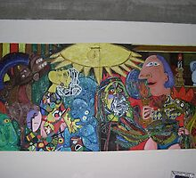 Picasso's Passion of the Christ by squelsh