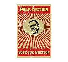 Pulp Faction - Winston Photographic Print
