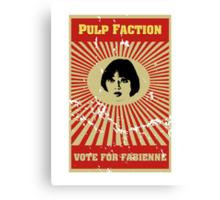 Pulp Faction - Fabienne Canvas Print