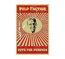 Pulp Faction - Pumpkin Photographic Print