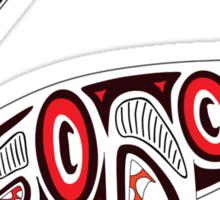 Kwakwaka'wakw elasmosaur Sticker
