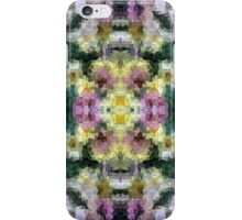 Abstract Mosaic in Yellow Pink Green iPhone Case/Skin