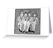 The Gentlemen of Abbey Road Greeting Card