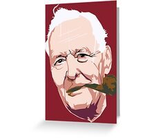 Tony Benn Greeting Card