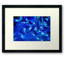 Dreamy Blue Water Framed Print