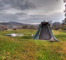 Camping Adventure in the Snowies by Christopher Meder