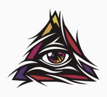 Illuminati Color - Trippy - Simple by kibo