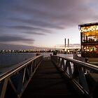 Melbourne Docklands at Sunset by Maryanne Fenech-Gatt