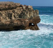 Hole in the wall... Innes National Park, South Australia by Craig Watson