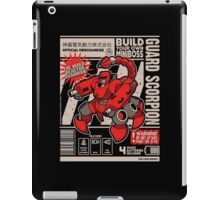 Build Your Boss - Guard Scorpion iPad Case/Skin