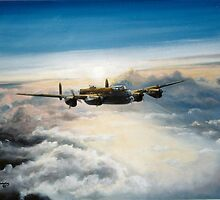 Lancaster Dawn by Woodie