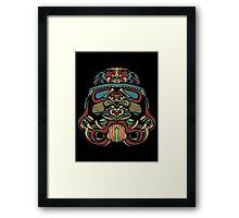 Darth Vader Rainbow Framed Print