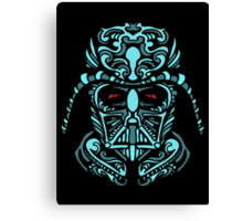 Darth Vader Blue Canvas Print