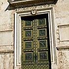 Roman Door by vaggypar