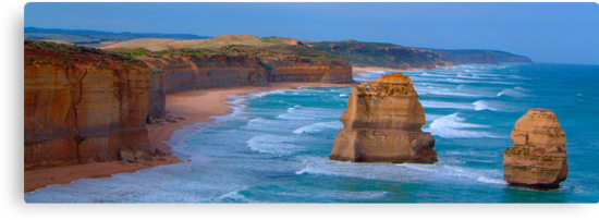 Set In Stone - Great Ocean Road. , Great Otway National Park , Victoria Australia by Philip Johnson