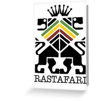 Rastafari BLK Greeting Card