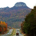 Pilot Mountain by WeeZie