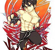 Jin Kazama by Tiffawana