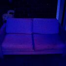 Blue couch by enigmatic