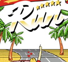 Racing Adventure  Sticker