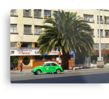 Life in the fast lane, in Mexico Metal Print