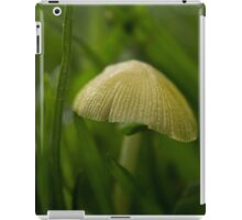 Yellow Field Cap (Bolbitius titubans) iPad Case/Skin