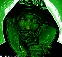 the top dogg.... tru my green eyes by KARMA TEES  karma view photography